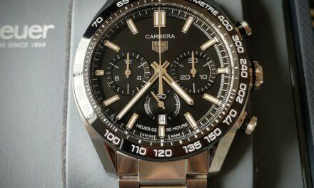 TAG Heuer Carrera Sport Chronograph Calibre Heuer 02 Automatic Ref CBN2A1B