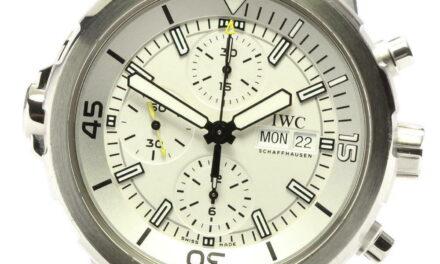 IWC Aquatimer IW376801 Chronograph Automatic Men's Watch_582307