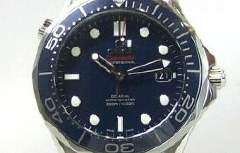 OMEGA Seamaster Professional 300M Automatic Men Watch Blue Wave 2531.80 f/ Japan