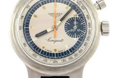 Longines CONQUEST Chronograph Olympia Munich 1972