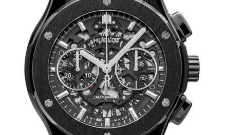 HUBLOT  Classic Fusion  525.CM.0170.LR Skeleton Dial Men's Watch Genuine
