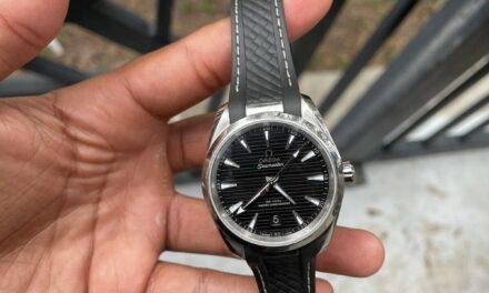 OMEGA Aqua Terra Co-Axial Master Chronometer Men's Black Watch -…