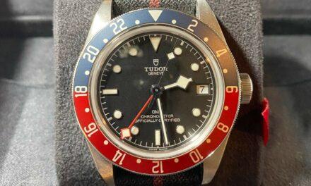 Tudor Black Bay GMT Pepsi 41mm MINT 2019 79830RB Nato Strap Full Set Mens Watch