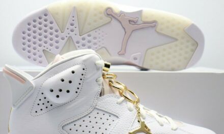 Nike Air Jordan 6 Retro Gold Hoops (W) DH9696-100 Women's Sizes
