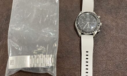 OMEGA Speedmaster Chronograph Reduced Automatic Watch 3510.50 Cal.3220 Serviced
