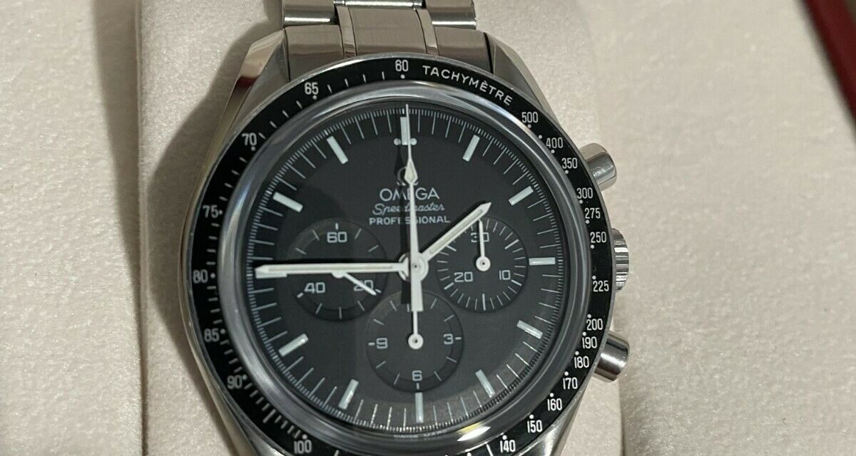 OMEGA SPEEDMASTER Professional (3573.50) Sapphire Sandwich. WITH BOX AND PAPERS!