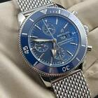 Breitling Superocean Heritage II Chronograph 44mm A13313 Blue Stainless Steel
