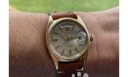 Rolex Day-Date (President) Vintage Pink gold 6611