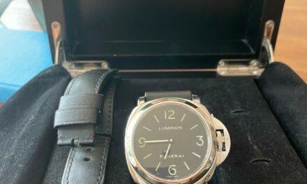 Panerai Luminor Men's Black Watch – PAM112