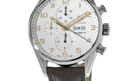 New Tag Heuer Carrera Calibre 16 Chronograph  Men's Watch CV2A1AC.FC6380
