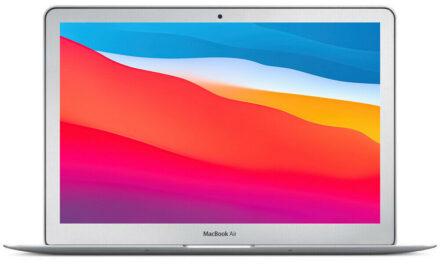 Apple MacBook Air 13″ 1.7GHz i7 8GB RAM 128GB SSD 2014 Certified Refurbished