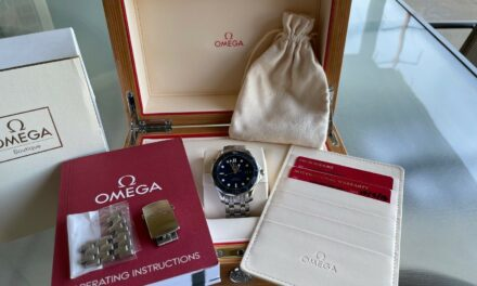 Omega Seamaster Blue Diver 300M Co-Axial Chronometer 41mm 212.30.41.20.03.001