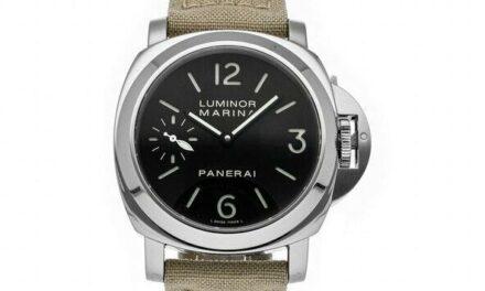 PRE-SALE Panerai Luminor Marina Manual Men's Strap Watch PAM 111 COMING SOON