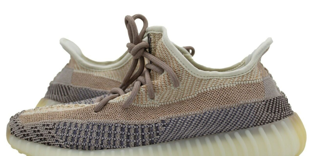 adidas Originals Yeezy Boost 350 V2 Shoes 'Ash Pearl' GY7658 Men's NEW Deadstock