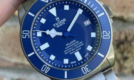 Tudor Pelagos Auto 42mm Titanium Mens Bracelet Watch Date 25600TB