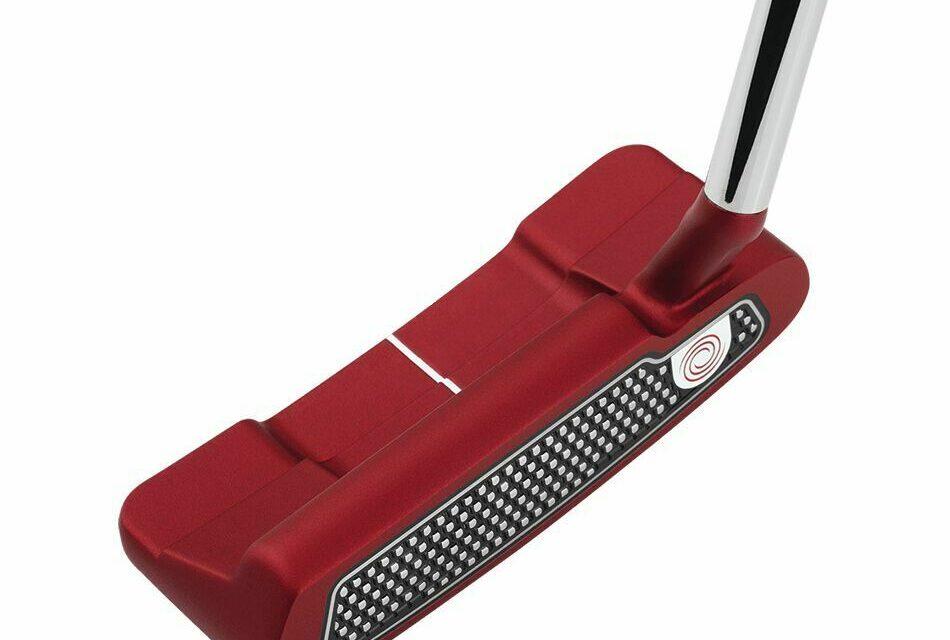 ODYSSEY O-WORKS RED #1W SLANT PUTTER 33 IN
