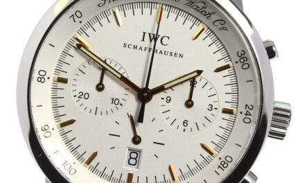 IWC GST chronograph IW372703 Mechanical Silver Dial Quartz Men's Watch_626430