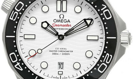 New Omega Seamaster 42MM AUTO White Dial Men's Watch 210.32.42.20.04.001