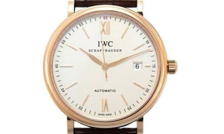 IWC  Portofino  IW356504 Silver Dial Unisex Watch Genuine FreeS&H