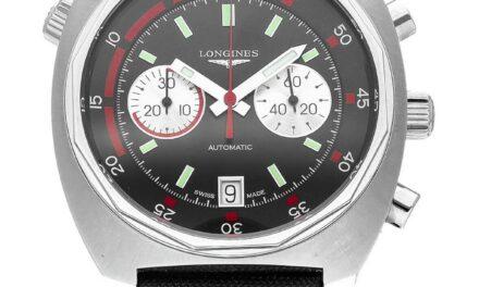 Longines Heritage Diver Automatic Chronograph 43mm Men's Watch L2.796.4.52.0