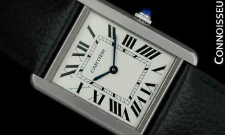 CARTIER Tank Solo Large Mens Stainless Steel W5200003 Watch *New* – $2610 Retail