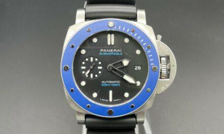 Panerai Submersible Azzurro 42mm Steel Blue Italia Limited Edit. 219/500 PAM1209