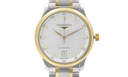 Longines Master Collection Stainless Steel Silver Dial Mens Watch L2.628.5.77.7