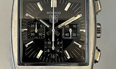 TAG Heuer Monaco Automatic Chronograph Swiss Watch CW2111 Excellent