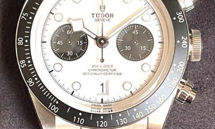 TUDOR Black Bay Men's Black Watch – 79360N-001