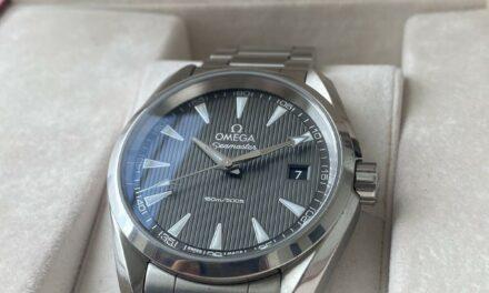 Omega Seamaster Aqua Terra 231.10.39.61.06.001 39mm Grey Dial Men's Watch