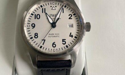 IWC Pilot  MARK XVIII Silver Dial
