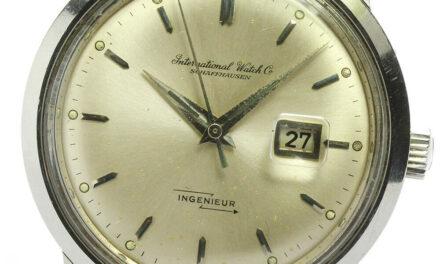 IWC SCHAFFHAUSEN Old Inter-in Junior cal.8531 Cross-eyed AT Men's Watch_631173