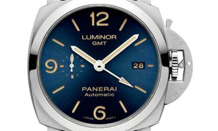 Panerai Luminor GMT Automatic Watch – 44mm –  Pam 1033 – PAM01033 – Brand New !