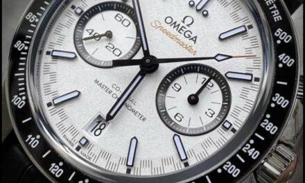 Omega Speedmaster Racing – White  Dial – 329.33.44.51.04.001