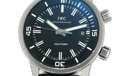 IWC Vintage Aquatimer Automatic Stainless Steel 44mm Watch