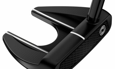 ODYSSEY MILLED COLLECTION RSX V-LINE FANG PUTTER 34 IN