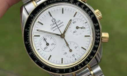OMEGA Speedmaster 3310.20 Chronograph white Dial Automatic Men's Watch