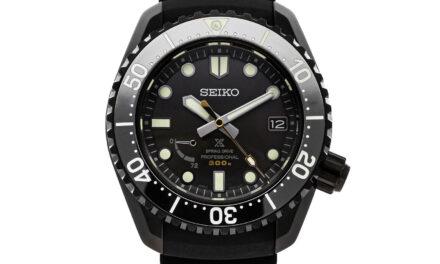 Seiko Prospex Limited Edition Auto Titanium Mens Strap Watch Date SNR043
