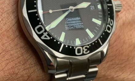 OMEGA Seamaster 300M Chronometer Men's Black Watch – 2254.50