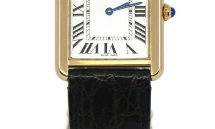 Cartier Tank Solo Large 18K Yellow Gold Watch 2742