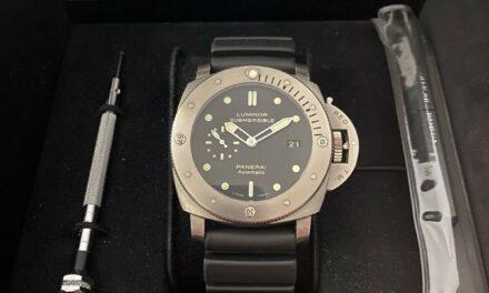 Panerai Luminor Men's Black Watch – PAM00305