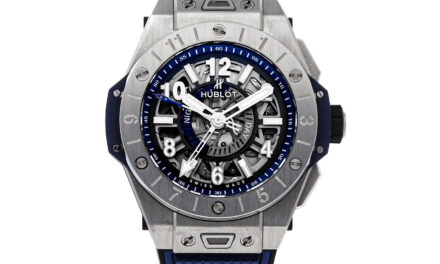 Hublot Big Bang Unico GMT Auto 45mm Titanium Mens Strap Watch 471.NX.7112.RX