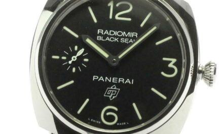 PANERAI Radiomir black seal logo PAM00380 Hand Winding Men's Watch_596335