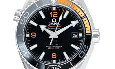 OMEGA  Seamaster  215.32.44.21.01.001 Black Dial Men's Watch Genuine FreeS&H