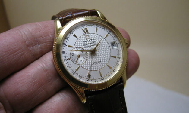 Zenith Elite Yellow Gold 18k  Automatic Date 682 GMT Chronometer Limited Edition