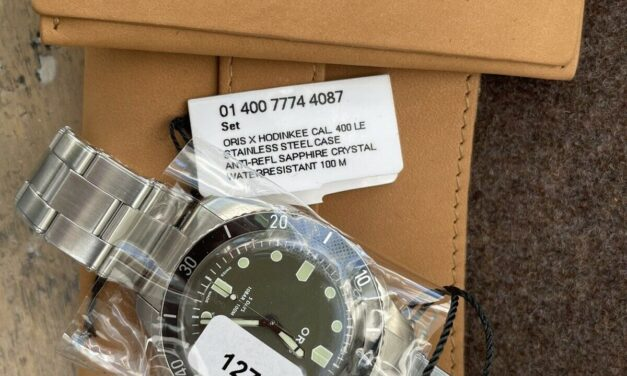 Oris Sixty-Five Caliber 400 For Hodinkee Limited Edition 2021