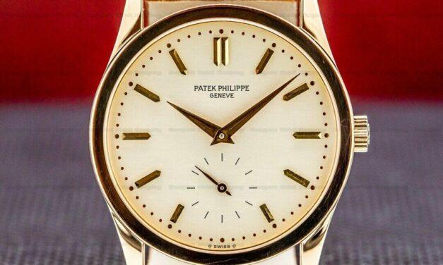 Patek Philippe Calatrava Manual Wind 18K Rose Gold / Silver Dial