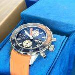 IWC Aquatimer Chronograph Blue Orange IW376704