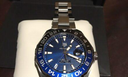 TAG Heuer Aquaracer Blue Men's Watch – WAY201TBA0927