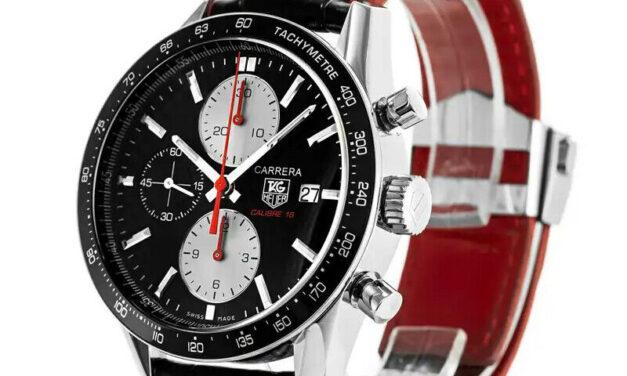 New TAG Heuer Rare limited edition Carrera calibre 16 chrono watch CV201T FC6297